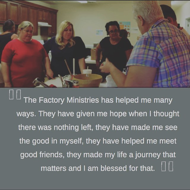 Your gift empowers individuals everyday with the resources they need to overcome their circumstances. Consider giving to The Factory Ministries during the #extragive on 11/26 here: tinyurl.com/extragivefactory