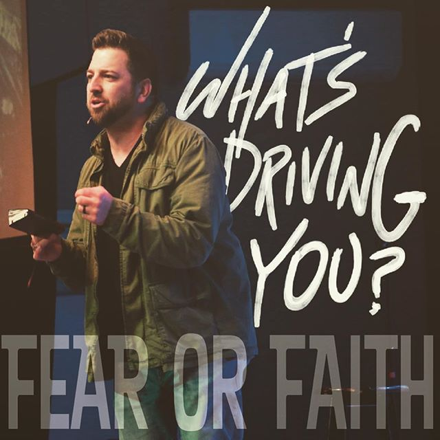 """What's driving you? Fear or faith?"" Great question from Josh Ott last night during the first session of winter camp for all of us! ""fear is not a good driver."" @thejoshott #factorywintercamp @the_factoryyc"
