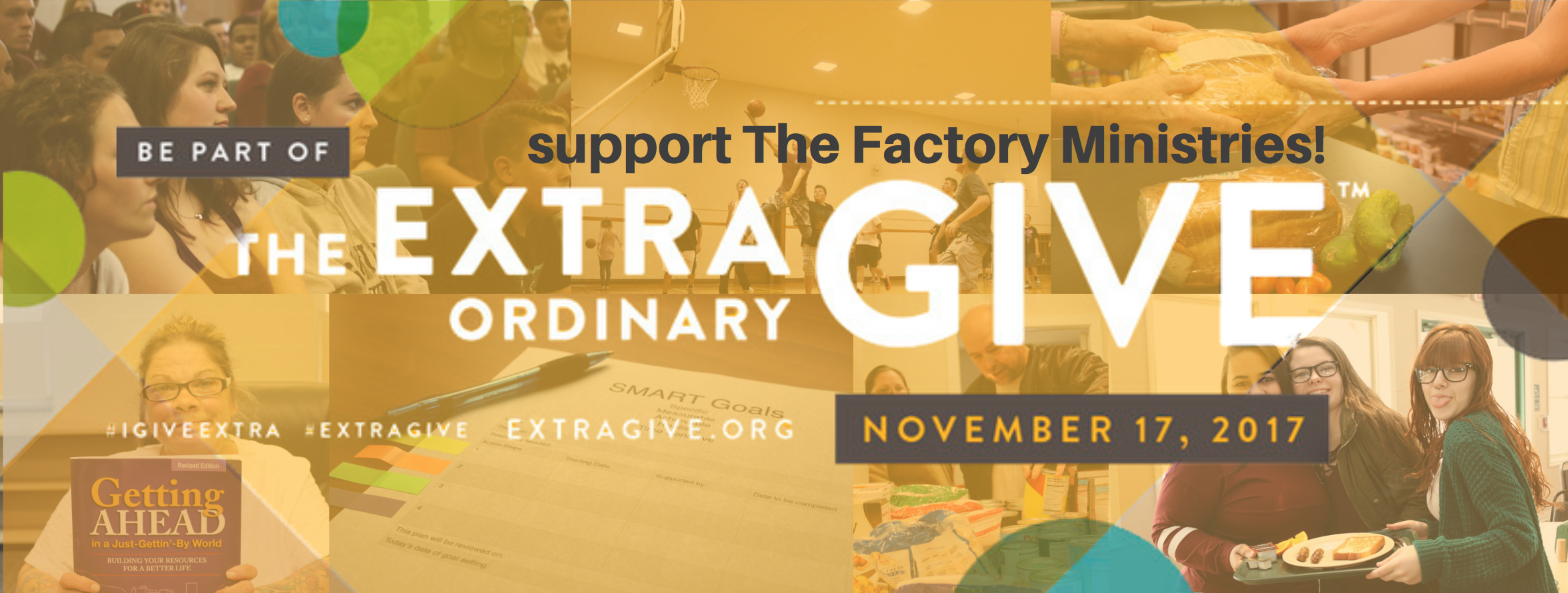 Click here to support The Factory Ministries for ExtraGive!