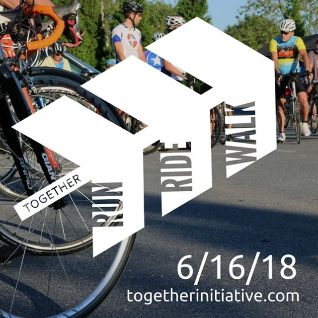 Join us for the Together Run Ride Walk on Saturday, June 16, with events from 6:30am-12:00pm! This year the Together Run Ride Walk is focused on improving educational opportunities for all children in the Pequea Valley School District. Register online at tiny.cc/RRW2018.  #togetherforEDUCATION