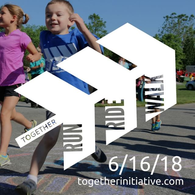 Have you registered for the Together Run Ride Walk? Register today at tiny.cc/RRW2018 !  Join us for the Together Run Ride Walk on Saturday, June 16, with events from 6:30am-12:00pm! This year the Together Run Ride Walk is focused on improving educational opportunities for all children in the Pequea Valley School District. Register online at tiny.cc/RRW2018.  #togetherforEDUCATION