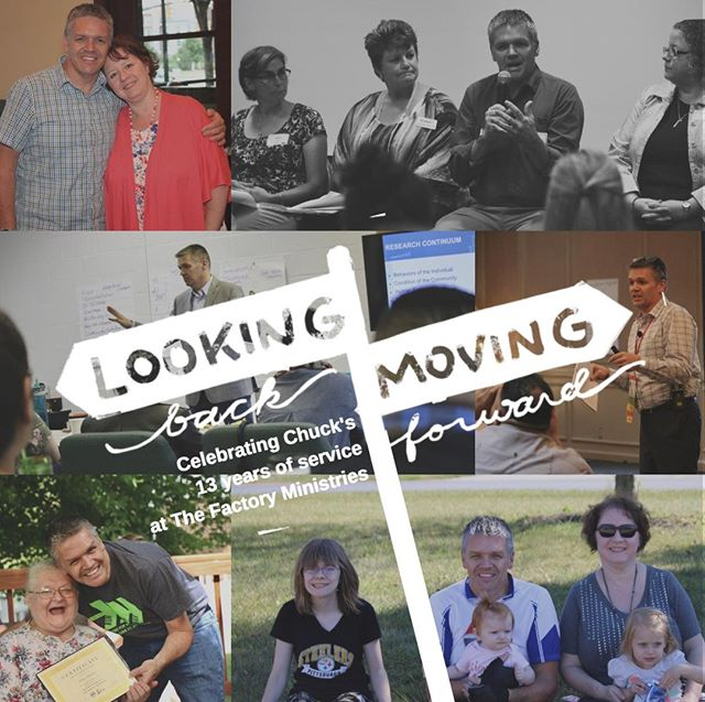 "Today marks the beginning of our President/CEO's, Chuck Holt, 13th year of service to The Factory Ministries and the community! We are so grateful for his leadership, vision, and inspiration.  How has Chuck impacted your life over the years? Let us know in the comments!  Did you get a chance to watch our first ""Looking Back Moving Forward"" video featuring Chuck?  Click this link to watch: https://www.flipcause.com/secure/cause_pdetails/Mzg3OTk="