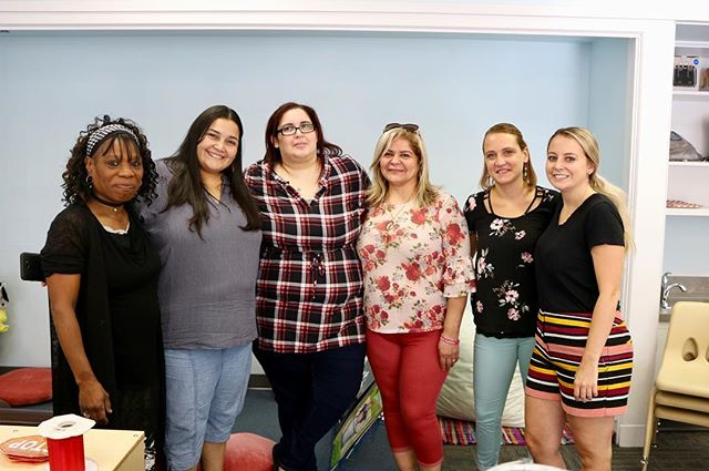 Congratulations to these wonderful HeadStart teachers on their brand new classrooms! They have worked so hard to prepare the new space and it looks great.  HeadStart classes begin next week!