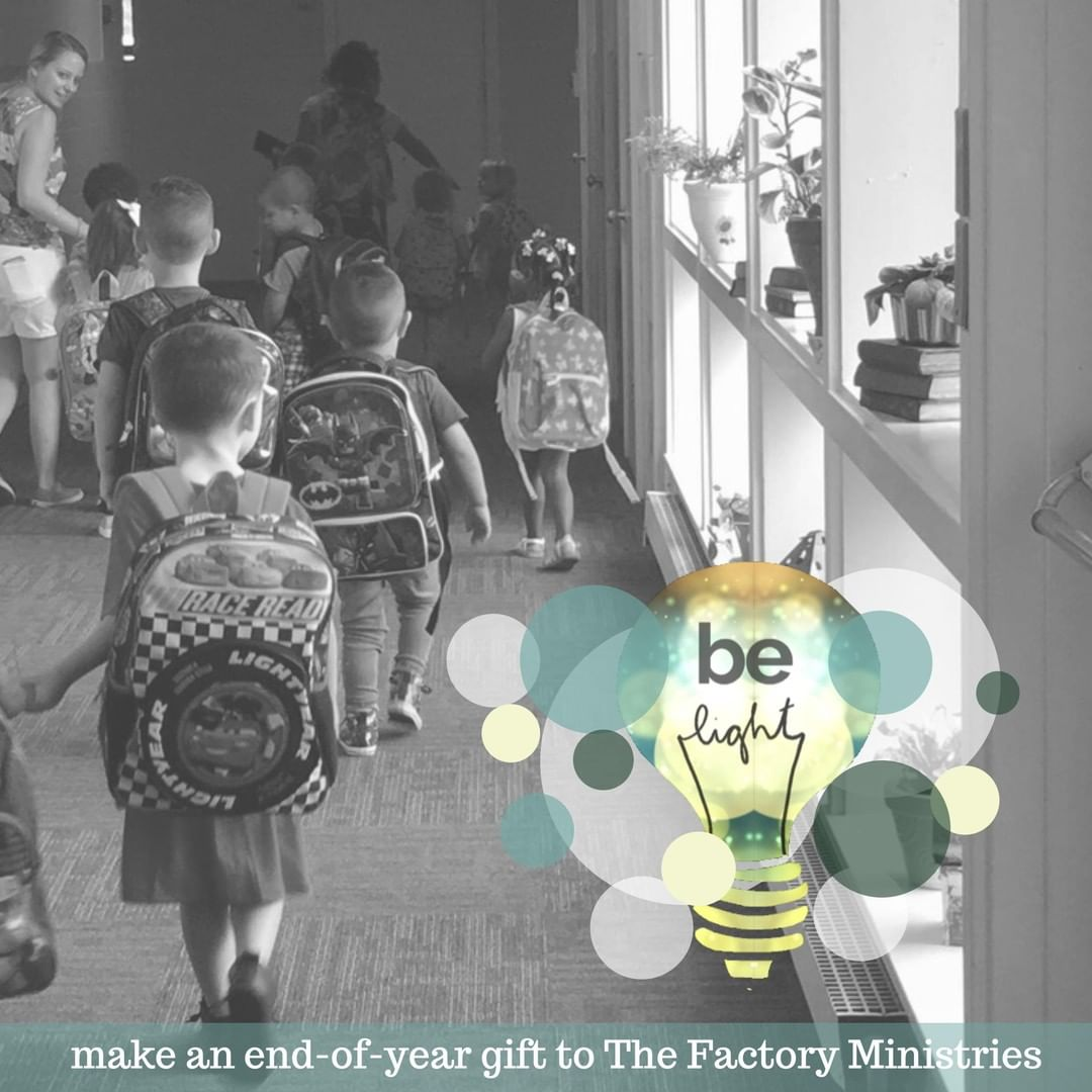 Many in our community are surrounded by darkness. They feel hopeless and stuck. But your gifts bring light to dark places. Your support of The Factory Ministries empowers individuals to rise up their circumstances and connect to physical, emotional, spiritual, financial, and relational resources.  Visit http://www.tinyurl.com/bringlight to make a year-end gift to The Factory Ministries. Thank you for bringing light this Christmas season! #BringLight #FactoryLIGHTS #BringLightToDarkPlaces#BecauseEveryonesJourneyMatters