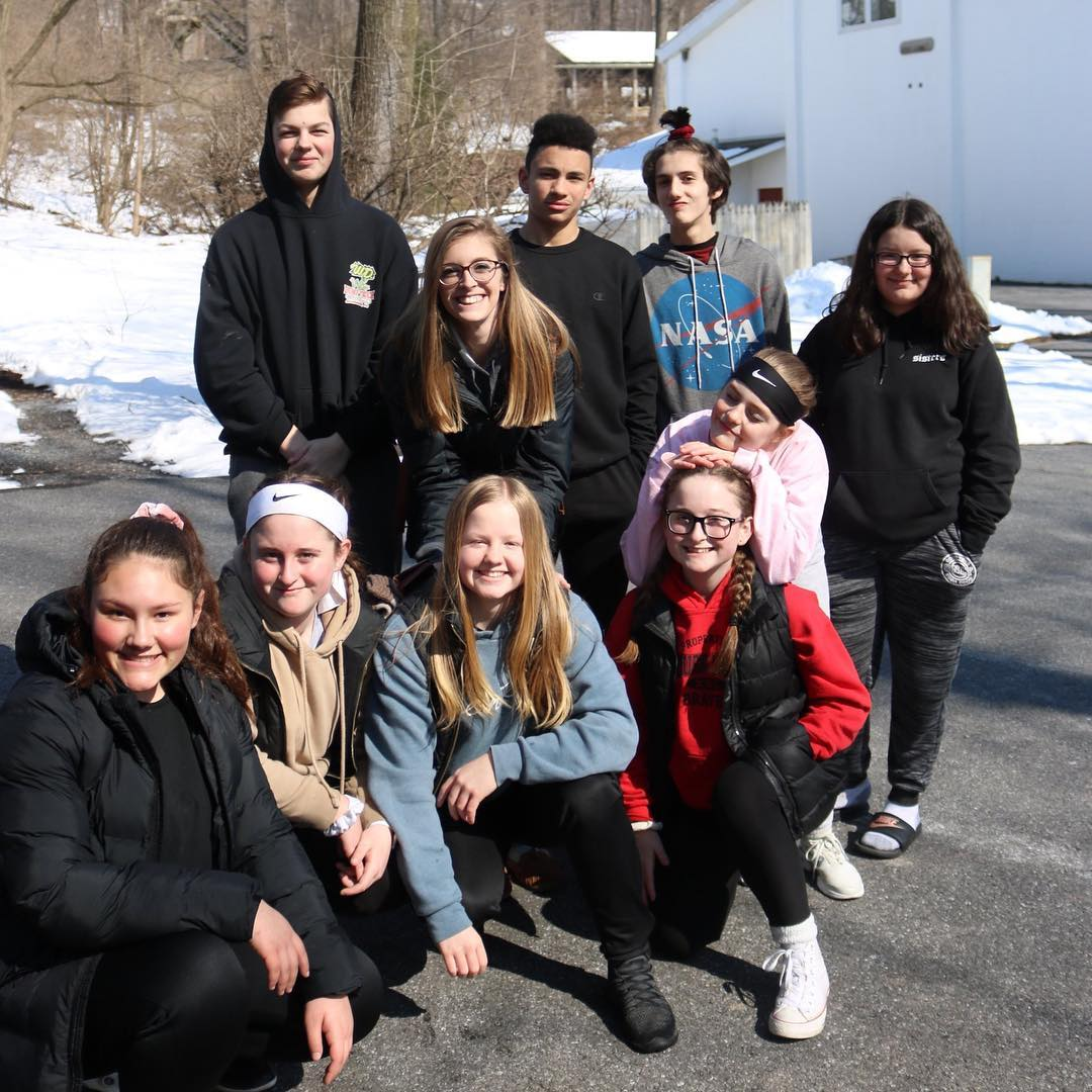 Factory Youth Center is having a great time at Winter Camp! The teens spent the morning on Refreshing Mountain's ropes course and zip line. Thank you for your generous support, making it possible for Factory Youth Center to take over 50 students to Winter Camp this year!