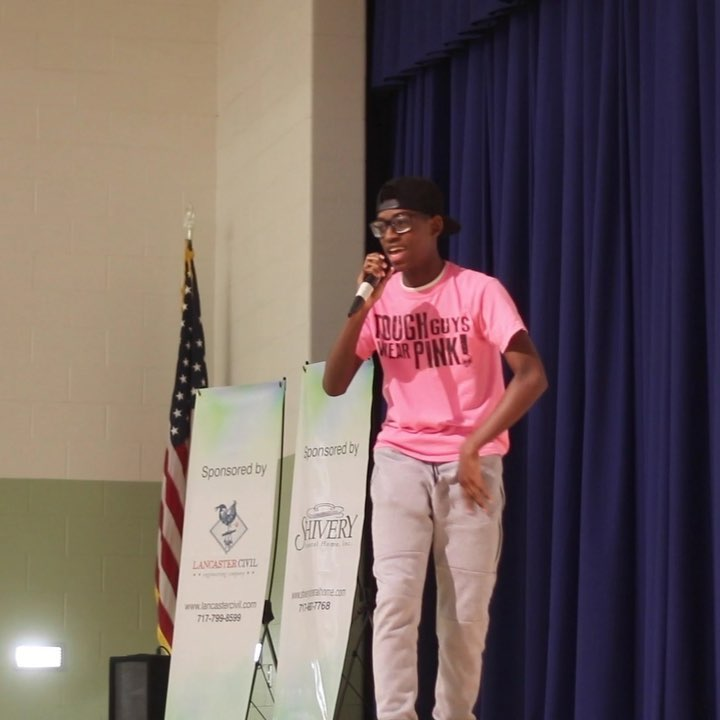 Michael Moyer, a student at Pequea Valley School District and a part of the Factory Youth Center family, shared his story at The Factory Ministries Spring Banquet last week. Click the link in our bio to check out his full performance!