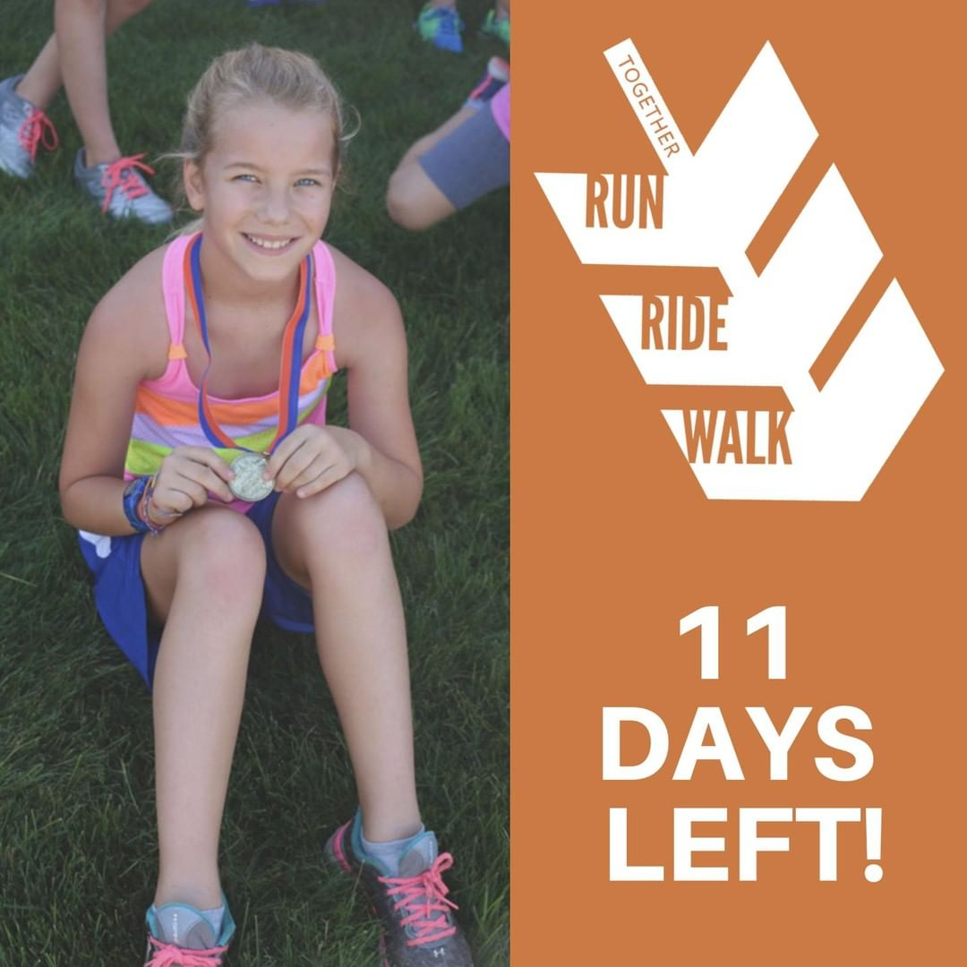 Only 11 days left until Run Ride Walk! Have your registered for a race yet? Visit www.thefactoryministries.com to claim your spot.