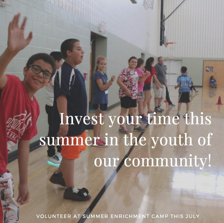 """Volunteers do not necessarily have the time, they just have the heart."" If you have a passion for serving your community, we would love to partner with you! Join us for Summer Enrichment Camp this July and invest in the lives of students in Pequea Valley School District.  For more information on how you can get involved, visit www.thefactoryministries.com/get-involved or call 717-687-9594."
