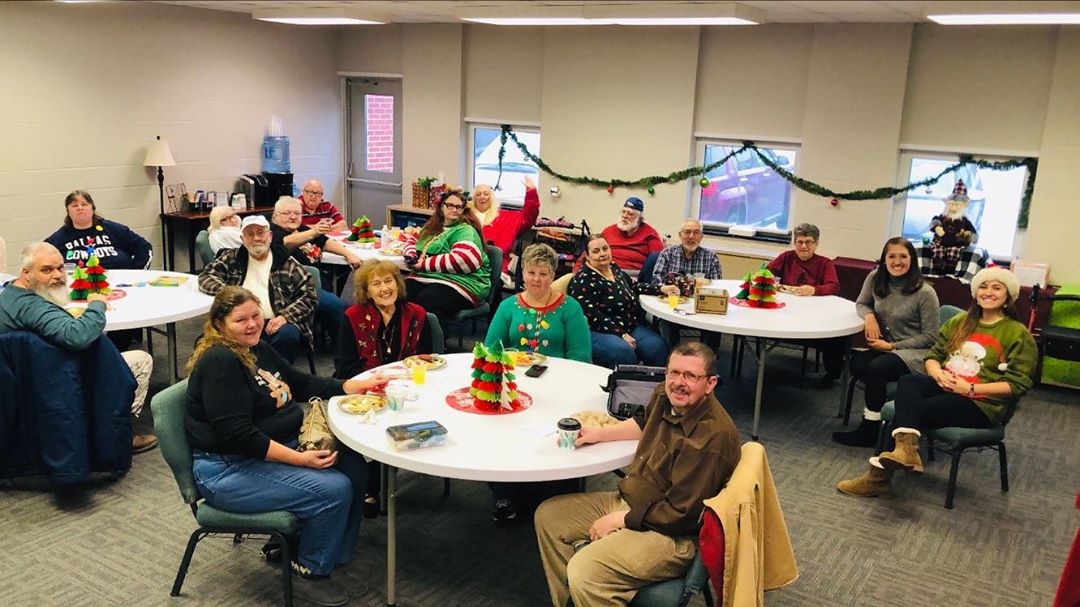 Merry Christmas from the Community Care Team! Our friends spent the afternoon spreading Christmas cheer all over the TCC by caroling to staff, volunteers, and HeadStart kiddos. They also played games and brought a full spread of holiday snacks to share with everyone.