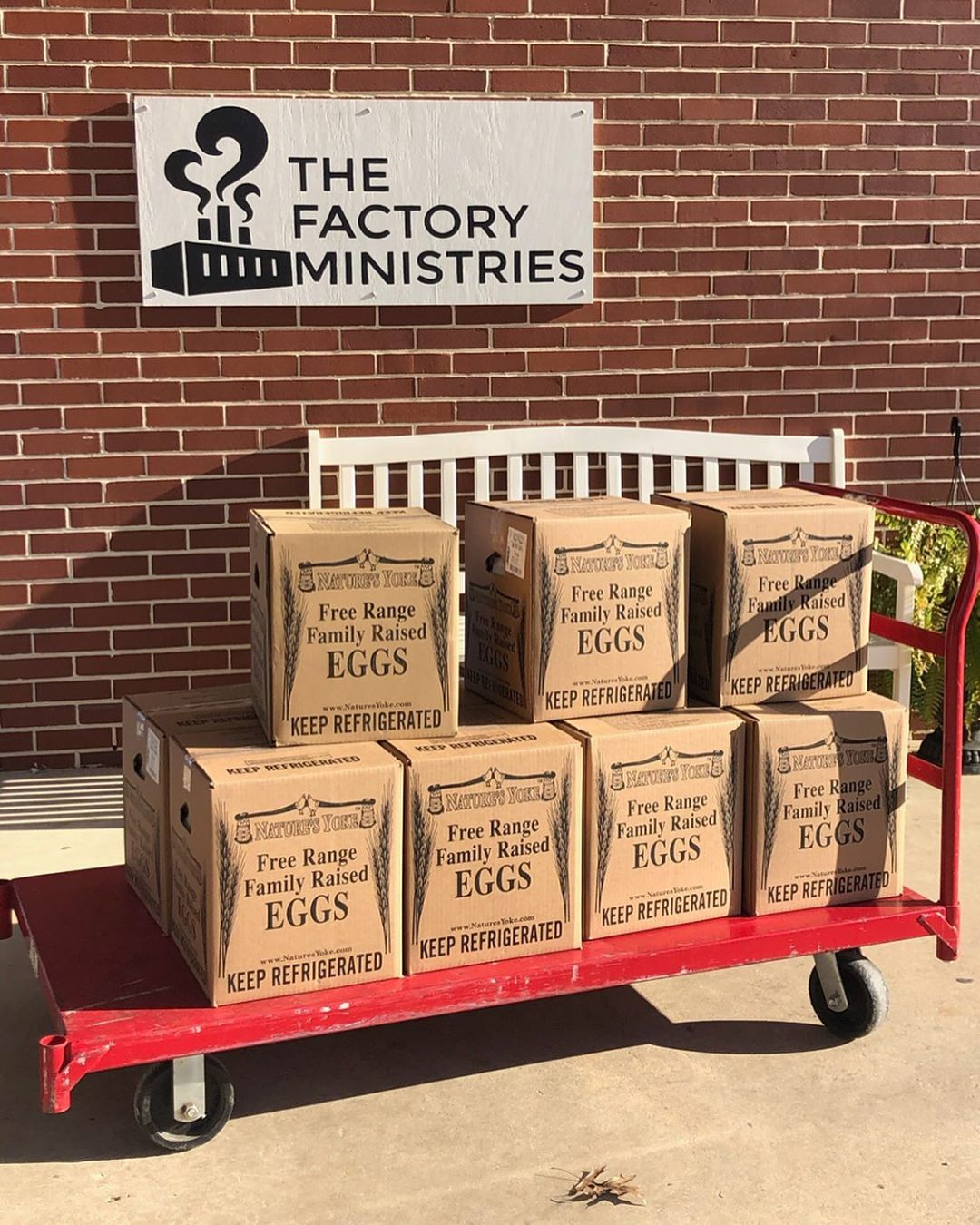 Thank you to Westfield Eggs for donating 11 cases of eggs to The Factory Market! If you would like to help stock the shelves and prepare for the likely increase of food needs in our community, The Factory Ministries is accepting food donations at the TCC on Friday from 9AM-12PM. Thank you for supporting the PV community through this time!